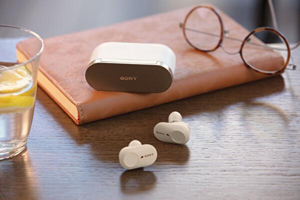 Sony WF-1000XM3 Gürültü Engelleme Özellikli Bluetooth Kulak İçi Kulaklık - Beyaz
