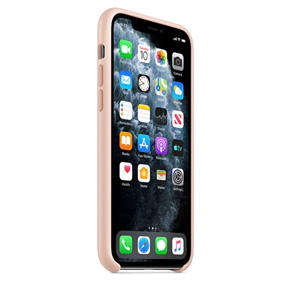 Apple MWYM2ZM/A  iPhone 11 Pro Silikon Kılıf - Kum pembesi