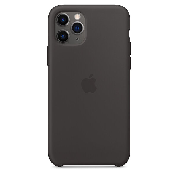 APPLE MWYN2ZM/A iPhone 11 Pro Silikon kılıf - Siyah