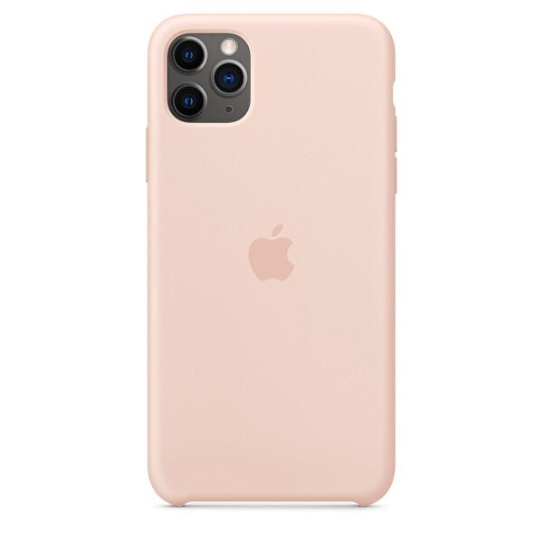 APPLE MWYY2ZM/A iPhone 11 Pro Max Silikon Kılıf - Kum Pembesi