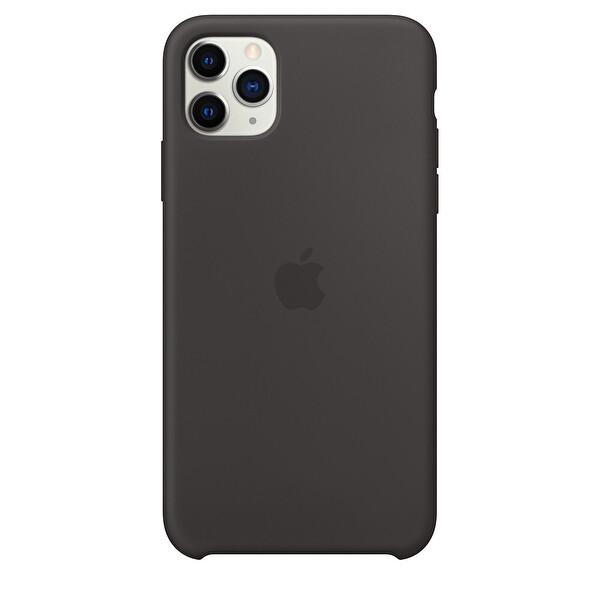 Apple iPhone 11 Pro Max Siyah Silikon Kılıf MX002ZM/A