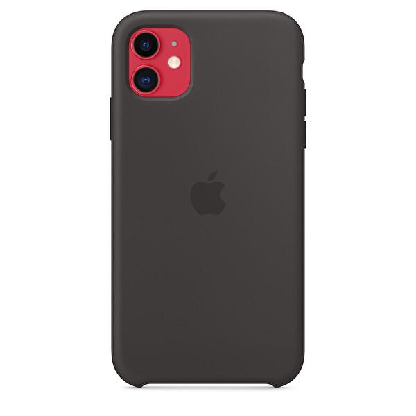 APPLE MWVU2ZM/A iPhone 11 Silikon Kılıf - Siyah