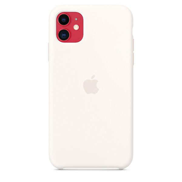Apple MWVX2ZM/A iPhone 11 Silikon Kılıf - Beyaz