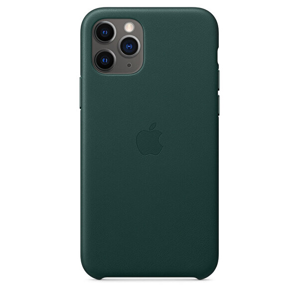 Apple iPhone 11 Pro Orman Yeşili Deri Kılıf MWYC2ZM/A