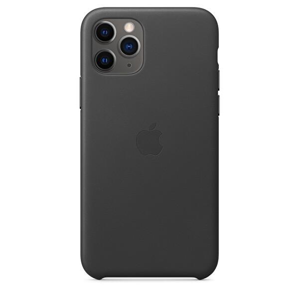 Apple MWYE2ZM/A iPhone 11 Pro Deri Kılıf - Siyah
