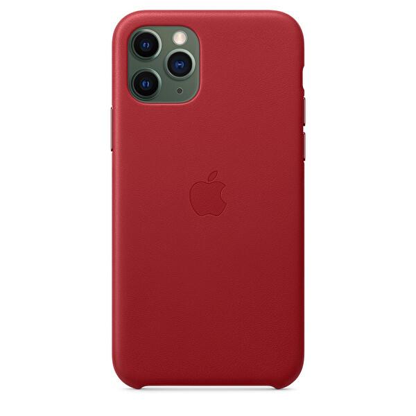 Apple  iPhone 11 Pro Kırmızı Deri Kılıf MWYF2ZM/A
