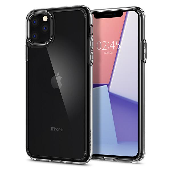 Spigen iPhone 11 Pro Crystal Hybrid Crystal Clear Telefon Kılıfı