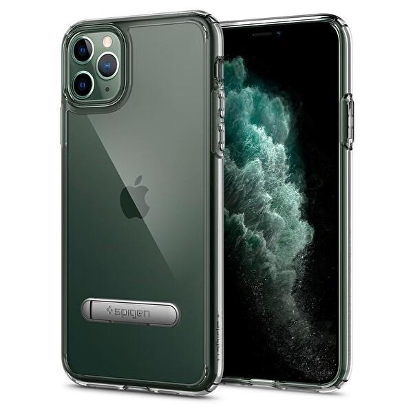 Spigen Ultra Hybrid S DESIGNED FOR Apple iPhone 11 Pro Max (2019) Kılıf Crystal CLEAR