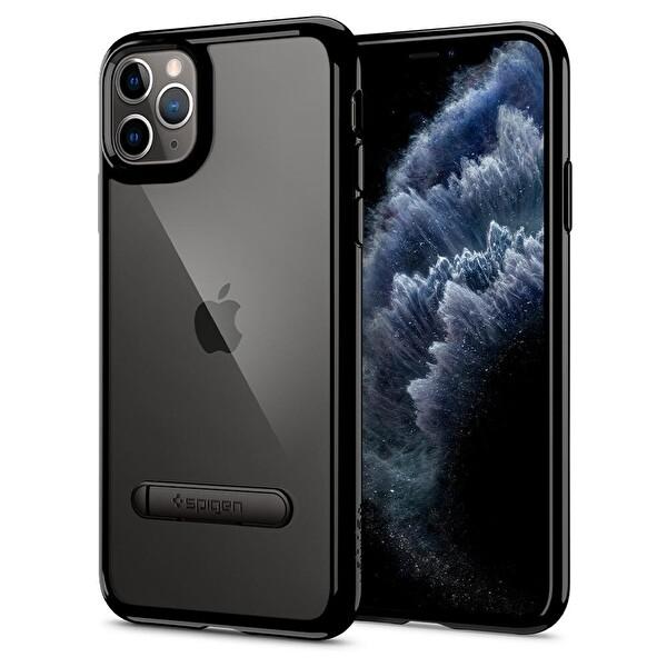 Spigen Ultra Hybrid S DESIGNED FOR Apple iPhone 11 Pro Max (2019) Kılıf JET Black
