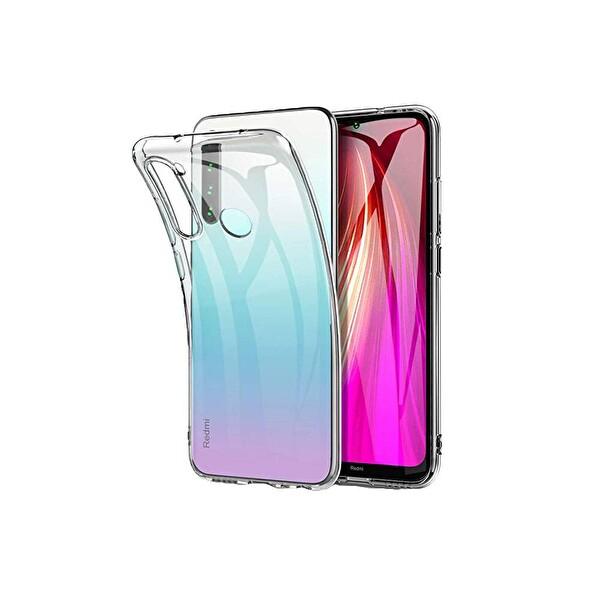 Preo My Case Xiaomi Redmi Note 8 Şeffaf Telefon Kılıfı