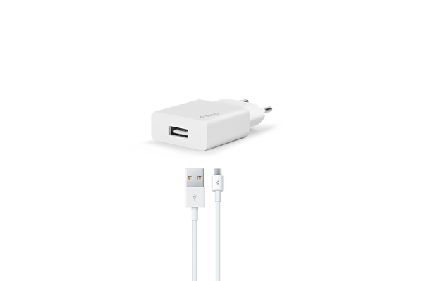 Ttec SmartCharger Seyahat Şarj Aleti 2A + Micro USB Beyaz Kablo