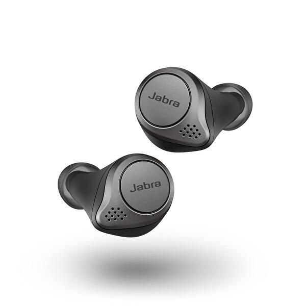 Jabra Elite 75t Bluetooth Kulak İçi Kulaklık Titanyum Siyah ( OUTLET )