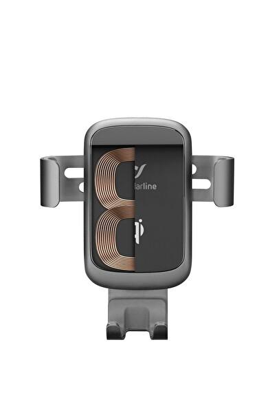 Cellularline QI Sertifikalı Kablosuz Şarj Özellikli Araç Tutucu ve 18W Adaptör Handywingprowirk