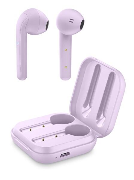 Cellularline Java Kulak İçi Bluetooth Tws Şarj Kılıflı Kulaklık , Pembe-Btjavatwsp