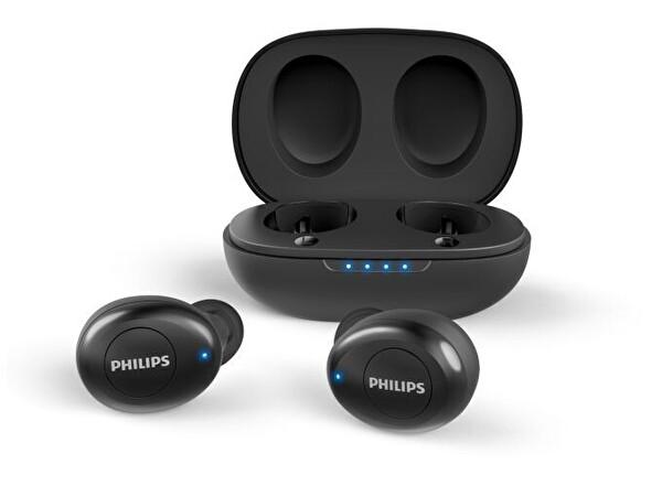 Philips TAUT102BK Mikrofonlu Gerçek Kablosuz Siyah Kulak İçi Kulaklık