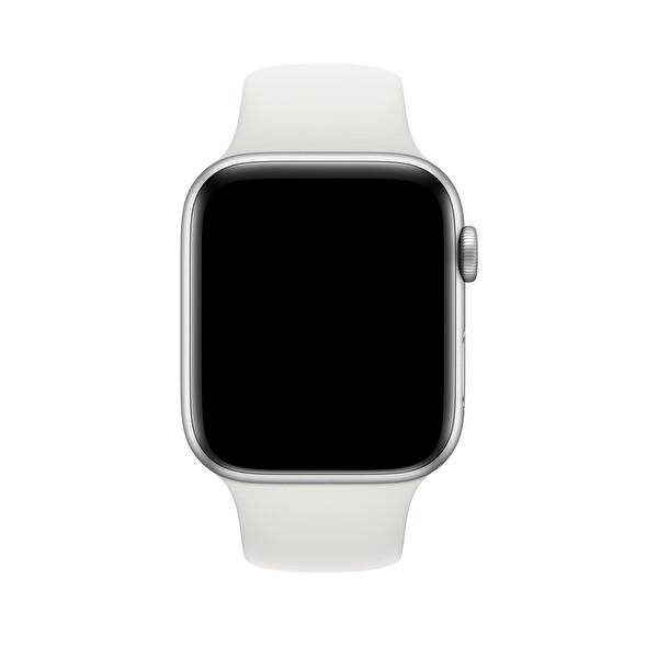 Apple Watch 44mm Beyaz Spor Kordon - Normal Boy