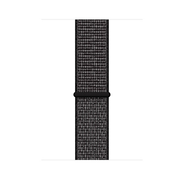 Apple Watch 44mm Siyah Loop Nike Spor Kordon