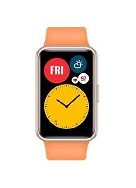 Huawei Watch Fit Stia-B09 Akıllı Saat Turuncu
