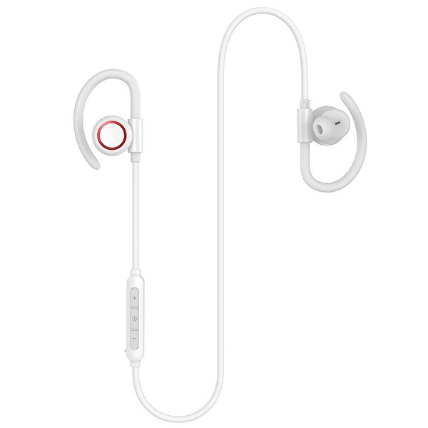 Baseus Encok S17 Magnetic Sport Boyun Askılı Bt 5.0 Su Geçirmez Bluetooth Kulaklık Beyaz