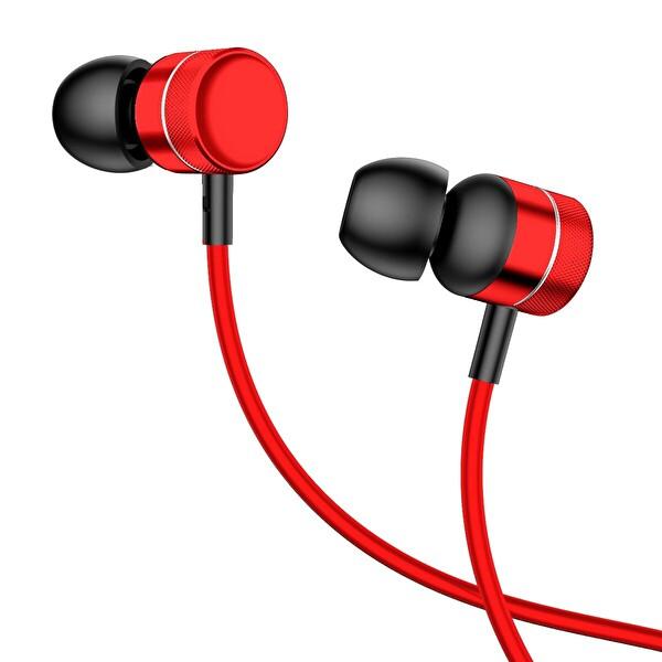 Baseus Encok Wire H04 3.5mm Mikrofonlu Kulak İçi Kulaklık Gümüş