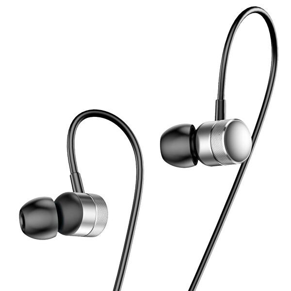 Baseus Encok Wire H04 3.5mm Mikrofonlu Kulak İçi Kulaklık Kırmızı