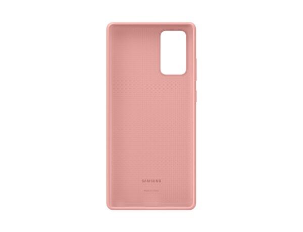 Samsung Galaxy Note 20 Silikon Kılıf Kahverengi