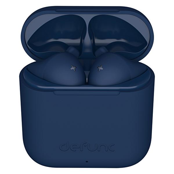 Defunc True Go Slim Gerçek Kablosuz Kulak İçi Kulaklık Bluetooth 5.0 IPX4 Mavi