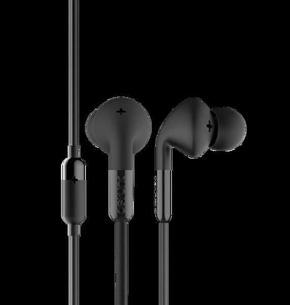 Defunc Plus Music Kablolu Kulak İçi Kulaklık Siyah