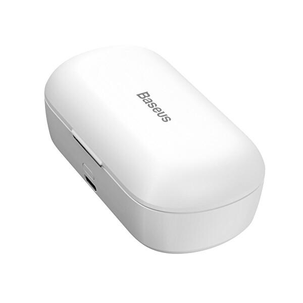 Baseus Encok W01 Tws Gerçek Kablosuz Kulaklık Beyaz