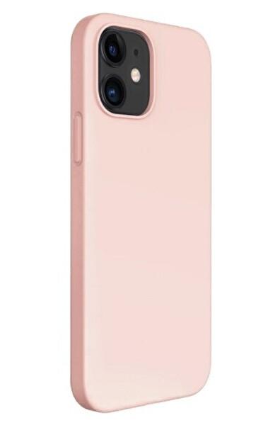 "Preo My Case Nano iPhone 12 Mini 5,4"" Silikon Telefon Kılıfı Pudra Pembesi"