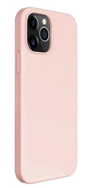 "Preo My Case Nano iPhone 12 Pro Max  6,7"" Silikon Telefon Kılıfı Pudra Pembesi"