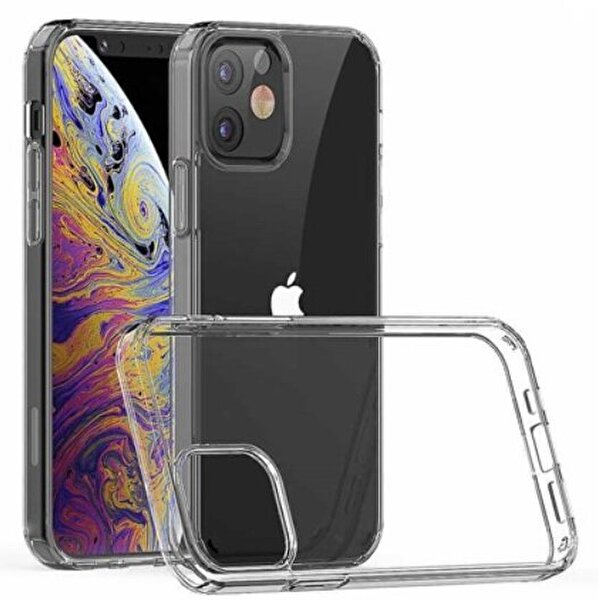 "Preo My Case iPhone 12 Mini  5,4"" Telefon Kılıfı Şeffaf"