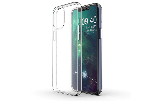 Preo Tpu Case iPhone 12 & 12 Pro Uyumlu Polikarkon Telefon Kılıfı Şeffaf