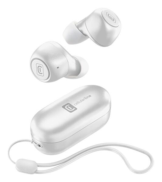 Cellularline Pick BTPICKTWSW Tws Gerçek Kablosuz Kulaklık Beyaz