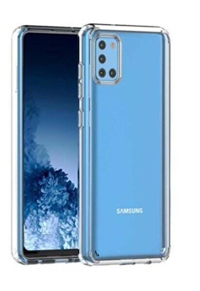Sunix Samsung Galaxy A31 Şeffaf Telefon Kılıfı