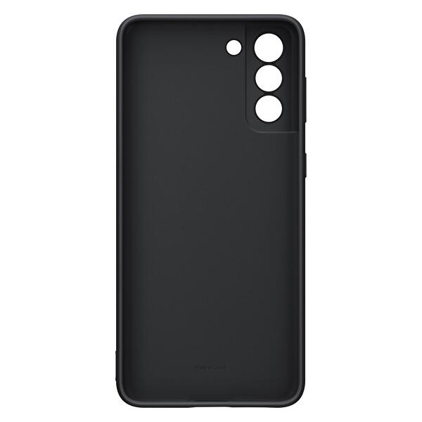 Samsung Galaxy S21+ Silikon Telefon Kılıfı Siyah