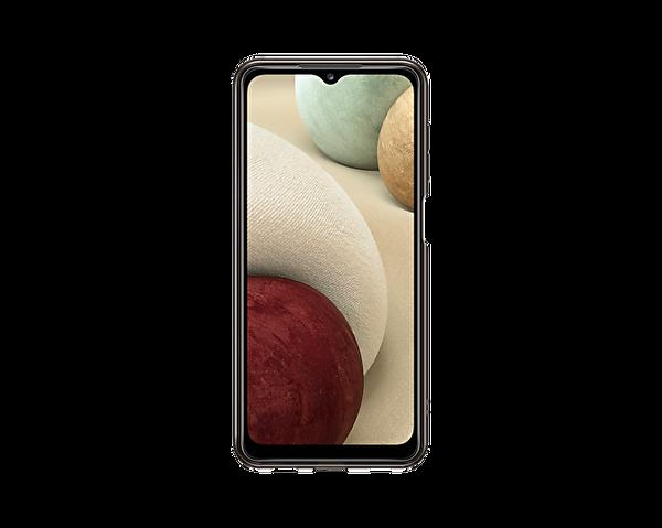 Samsung Galaxy A12 Uyumlu Soft Clear Kılıf Siyah