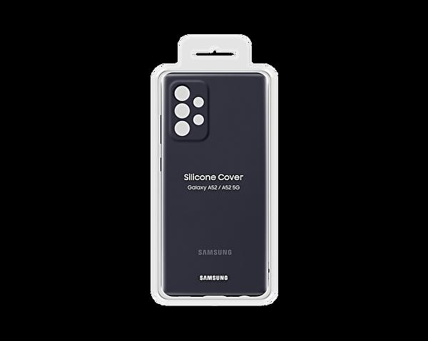 Samsung Galaxy A52 Uyumlu Slim Silikon Kılıf Siyah