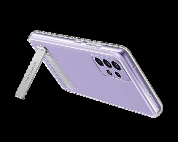 Samsung Galaxy A52 Uyumlu Clear Standing Kılıf Şeffaf