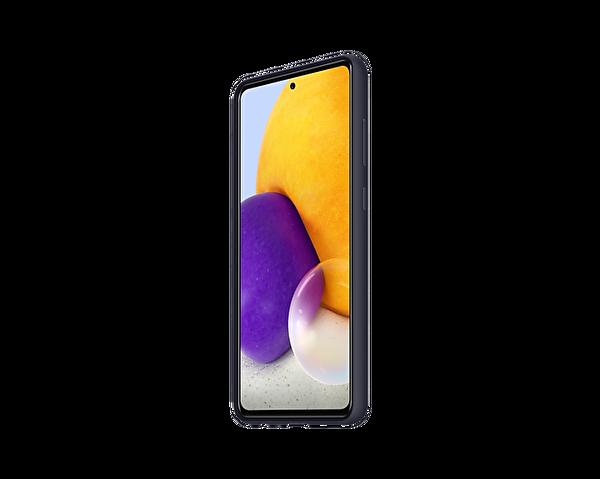 Samsung Galaxy A72 Uyumlu Slim Silikon Kılıf Siyah