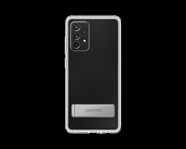 Samsung Galaxy A72 Uyumlu Clear Standing Kılıf Şeffaf