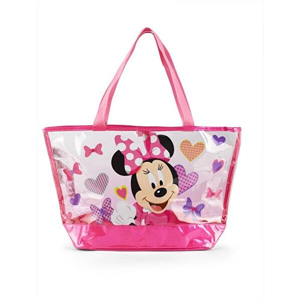 Pink Minnie Plaj Çantası