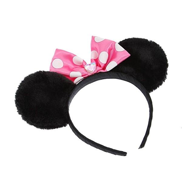 Pink Minnie Kulak Tasarımlı Taç